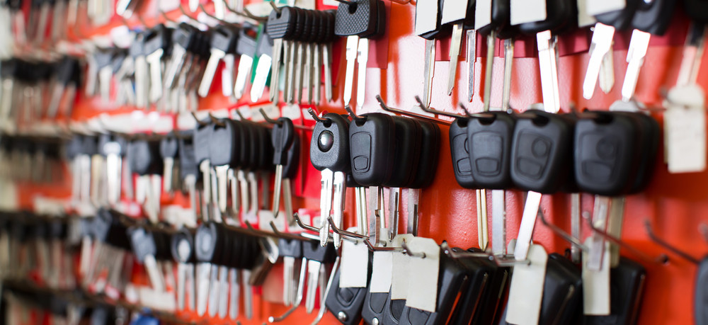 car keys at locksmith